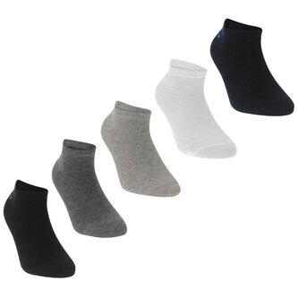5 Pack Trainers Socks Junior