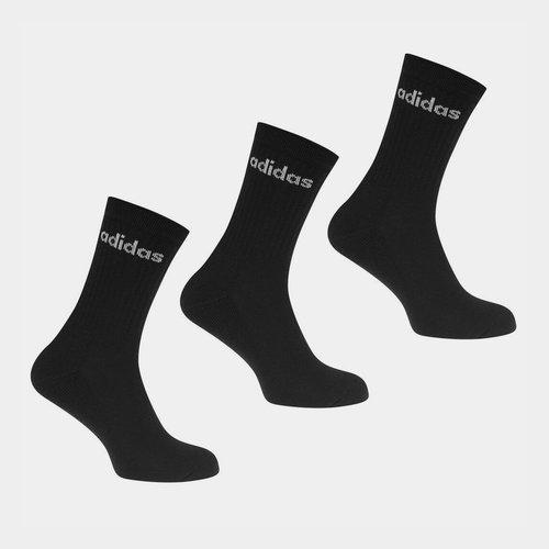 Half Cushioned Crew 3 Pack Socks