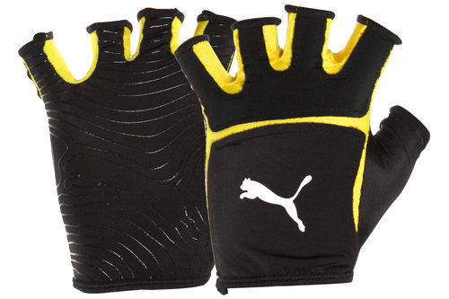 V-Konstrukt Rugby Grip Mitts Black/Yellow