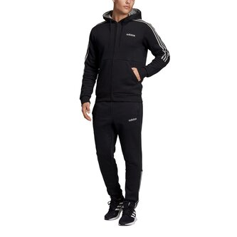 Mens Full Zip 3 Stripes Tracksuit