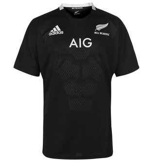 New Zealand All Blacks Home Rugby Shirt 2018 2019