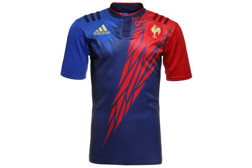 France 7s 2014/15 Home S/S Replica Rugby Shirt