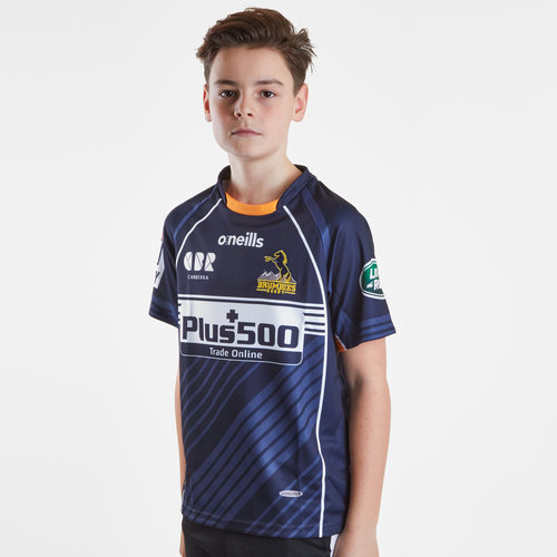 Brumbies 2019 Alternate Super Rugby Kids S/S Rugby Shirt