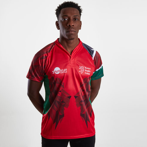 Kenya 7s 2019 Home S/S Replica Rugby Shirt