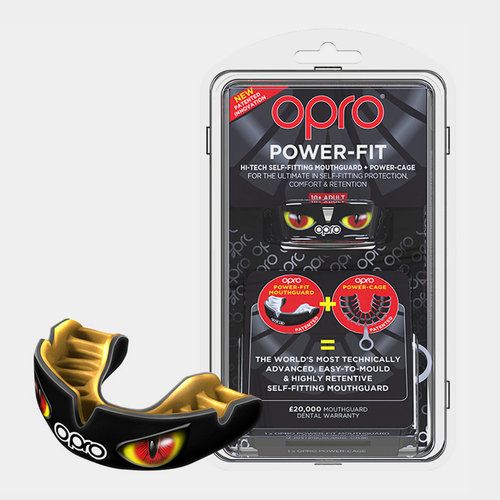 Power Fit Mouth Guard Black