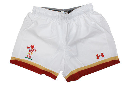 Wales WRU 2016/17 Home Supporters Rugby Shorts