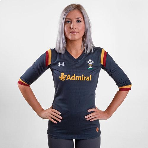 Wales WRU 2016/17 Alternate Ladies S/S Rugby Shirt