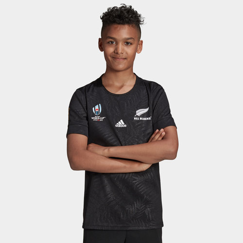 New Zealand All Blacks RWC 2019 Kids Home Rugby Shirt