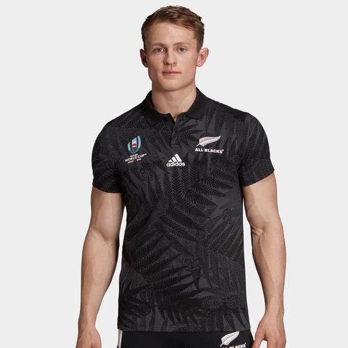 New Zealand All Blacks RWC 2019 Supporter Rugby Shirt