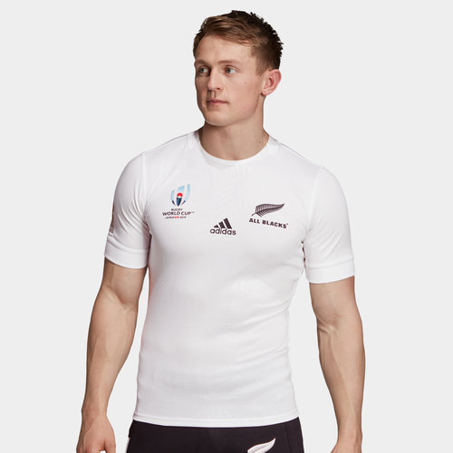 New Zealand All Blacks RWC 2019 Alternate S/S Rugby Shirt