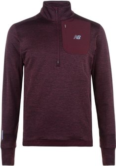 Impact Half Zip Top Mens