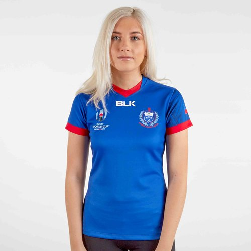 Samoa RWC 2019 Home S/S Ladies Replica Rugby Shirt