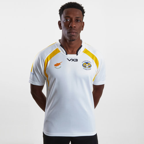 Cyprus 2019 Home S/S Rugby Shirt
