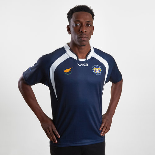 Cyprus 2019 Alternate S/S Rugby Shirt