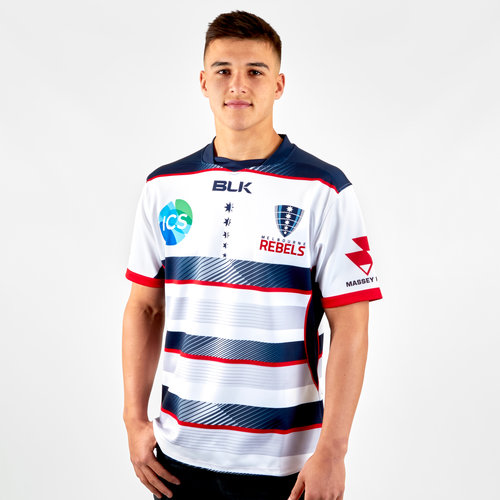 Melbourne Rebels 2019 Alternate Replica S/S Rugby Shirt