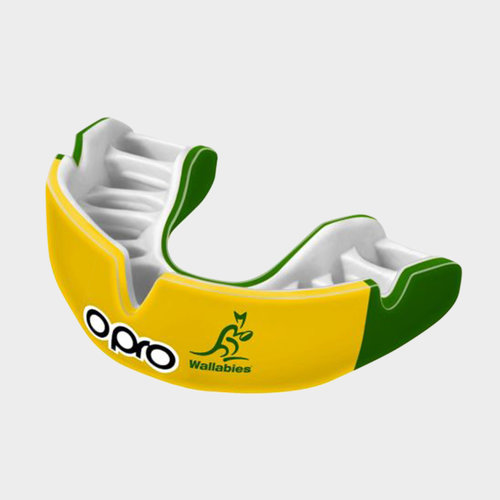 Opro Power-Fit Wallabies Official Mouth Guard