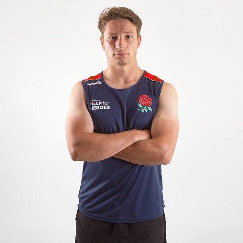 Help for Heroes England 2019/20 Rugby Vest