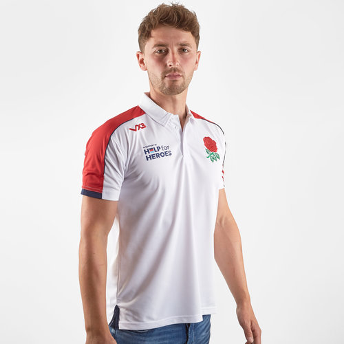 Help for Heroes England 2019/20 Rugby Polo Shirt