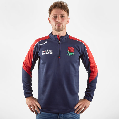 Help for Heroes England 2019/20 Half Zip Sweat