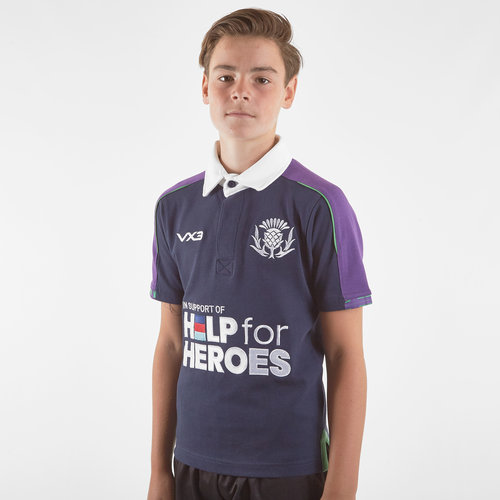 Help for Heroes Scotland 2019/20 Kids Rugby Shirt