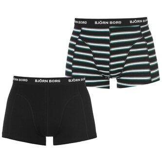 2 Pack Boxer Shorts Mens