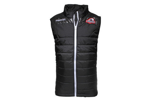Edinburgh 2016/17 Players Off Field Padded Rugby Gilet