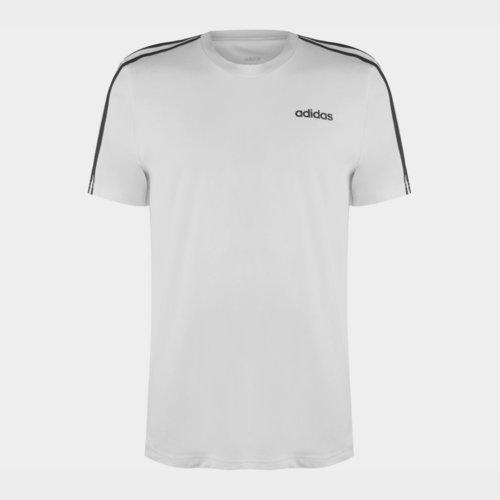 3 Stripe T Shirt Mens
