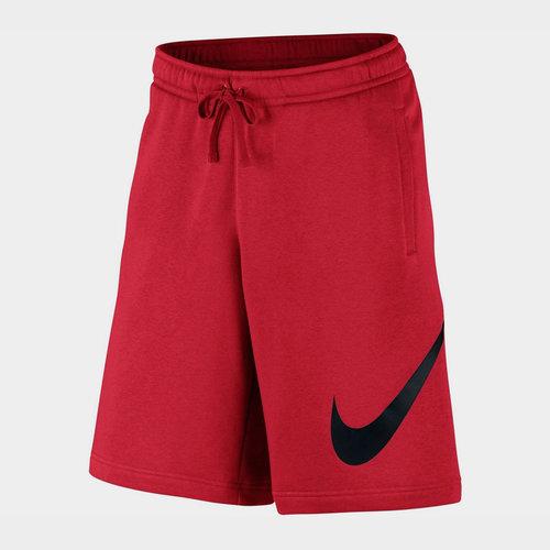 Swoosh Fleece Shorts Mens