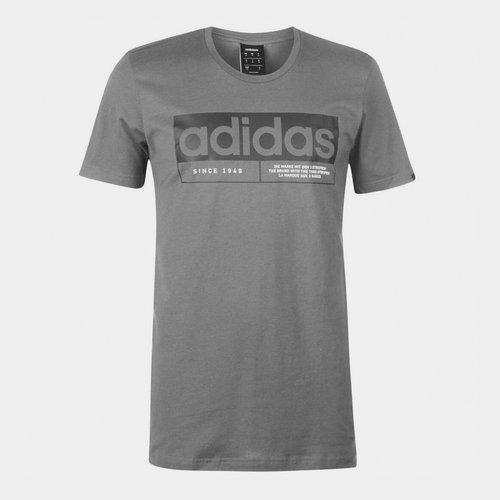 New Box Linear Mens T shirt