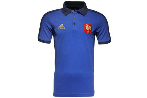 France 2015/16 Essential Rugby Polo Shirt