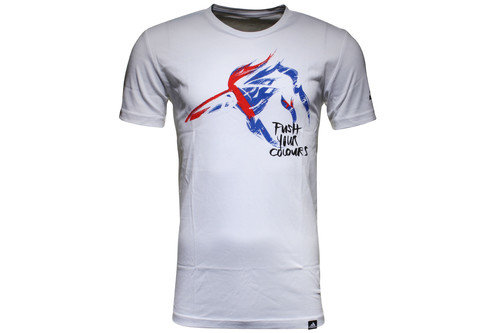 Push New Zealand Logo Rugby T-Shirt