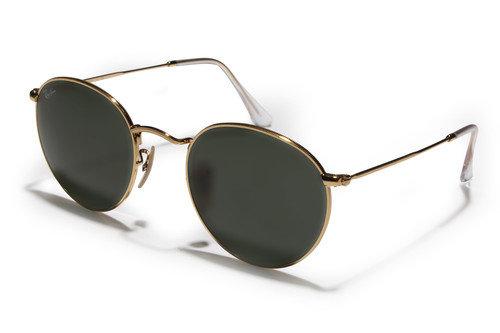 Ray-Ban 3447 Gold Green Classic Sunglasses