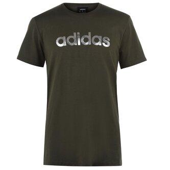 Mens Linear Foil T Shirt