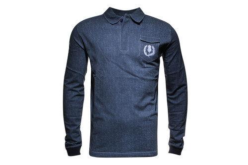 Scotland Elite Home Cotton L/S Rugby Shirt