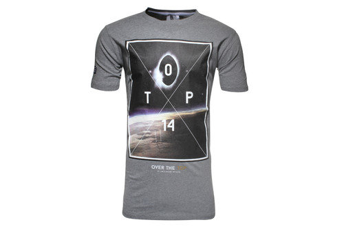 Eclipse Top 14 Graphic Rugby T-Shirt