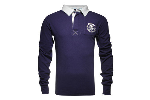 Scotland Kids Vintage Rugby Shirt