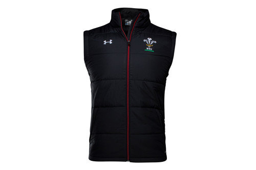 Wales WRU 2016/17 Players Sideline Padded Rugby Gilet