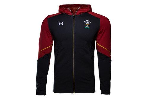 Wales WRU 2016/17 ColdGear Infrared Lightweight Hooded Rugby Jacket