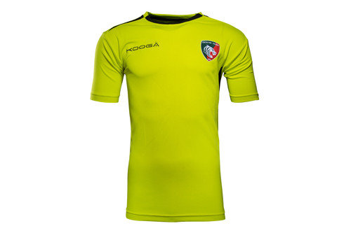 Leicester Tigers 2016/17 Players Gym Rugby Training T-Shirt