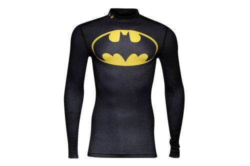 Batman Alter Ego ColdGear Kids Compression L/S T-Shirt