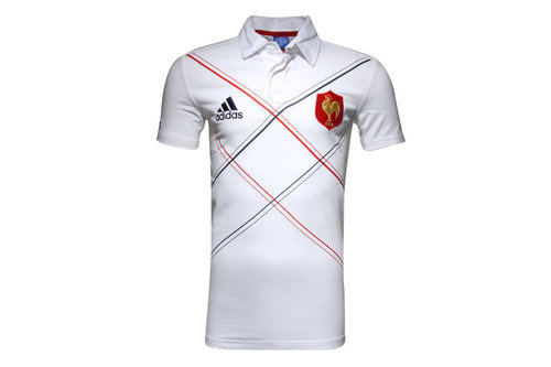 France 2016 S/S Supporters Rugby Shirt