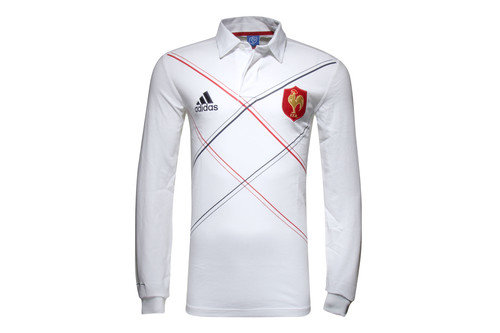 France 2016 L/S Supporters Rugby Shirt