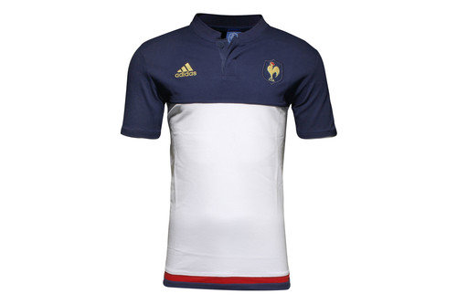 France 2016 Players Anthem Rugby Polo Shirt