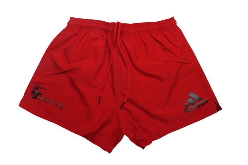Crusaders 2016/17 Home Super Rugby Players Rugby Shorts