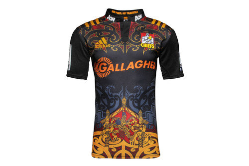 Chiefs 2016/17 Home Kids Super Rugby S/S Rugby Shirt