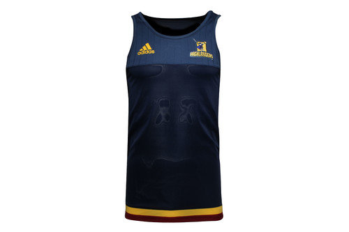 Highlanders 2016/17 Players Super Rugby Training Singlet