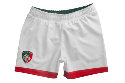 Leicester Tigers 2016/17 Kids Home Rugby Shorts