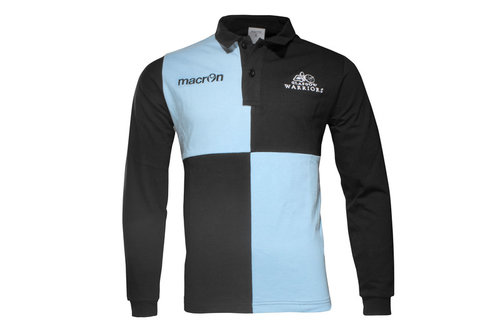 Glasgow Warriors 2016/17 Home Cotton L/S Classic Rugby Shirt