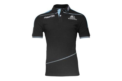 Glasgow Warriors 2016/17 Cotton Piquet Rugby Polo Shirt