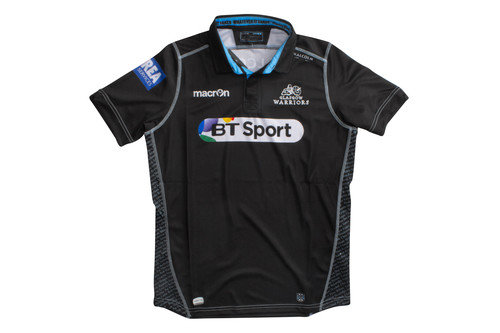 Glasgow Warriors 2016/17 Kids Home S/S Replica Rugby Shirt